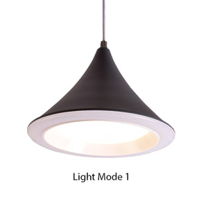 Cone LED Pendant Light Grey