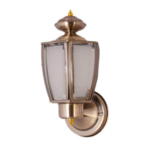 Outdoor Wall Light E27, Antique Bronze