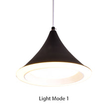 Load image into Gallery viewer, Cone LED Pendant Light Black