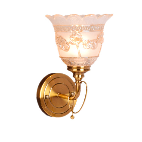Antique Bronze Wall Light, E14