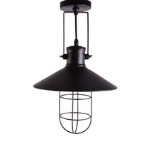 Load image into Gallery viewer, Industrial Black Pendant Light with Shade for Home Bar Restaurant E27
