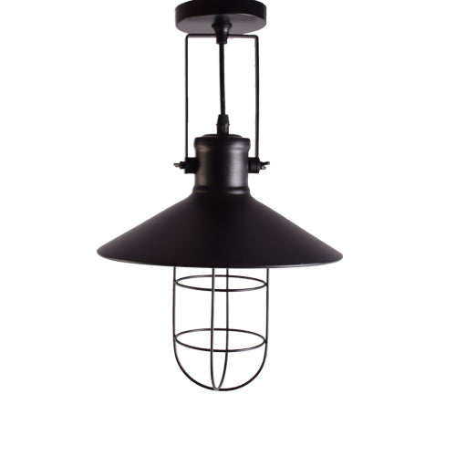 Black Pendant Light with Shade-Starry Night