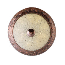 Load image into Gallery viewer, LED Decorative Ceiling Light 24 watts 3 in 1 Color, Antique Gold