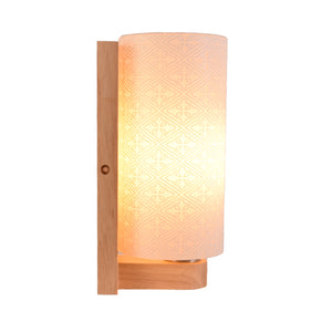 Wall Light Decorative White Glass E27