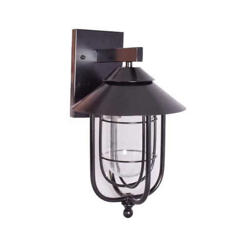 Outdoor Black Wall Light-Starry Night