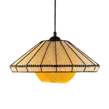 Load image into Gallery viewer, Decorative Pendant Light E27 Holder, Black & Yellow