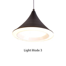 Load image into Gallery viewer, Cone LED Pendant Light Grey
