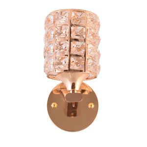 Decorative Wall Light with Crystals