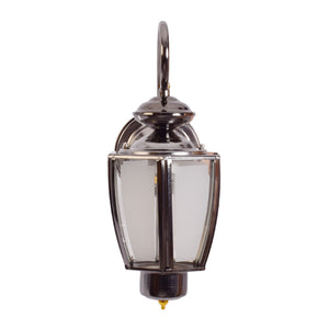 Outdoor Wall Light Lantern Light E27, Silver