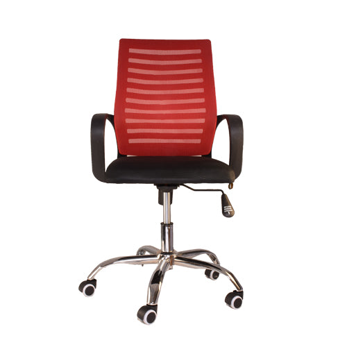 Premium Mesh Chair for Task/Desk / Home Office Work - Red