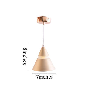 LED Pendant Light Luxury Gold