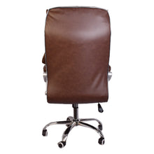 Load image into Gallery viewer, Starry Night High-Back Executive Swivel Chair with Armrest, Brown