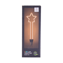 Load image into Gallery viewer, LED Filament Bulb Star Shape 6 watt Non-Dimmable (Warm White)