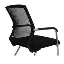Load image into Gallery viewer, Office Visitor Chair with Medium Mesh Back Breathable Foam Pad and Robust Steel Base