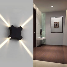 Load image into Gallery viewer, Outdoor LED Up and Down Wall Lamp-Starry Night