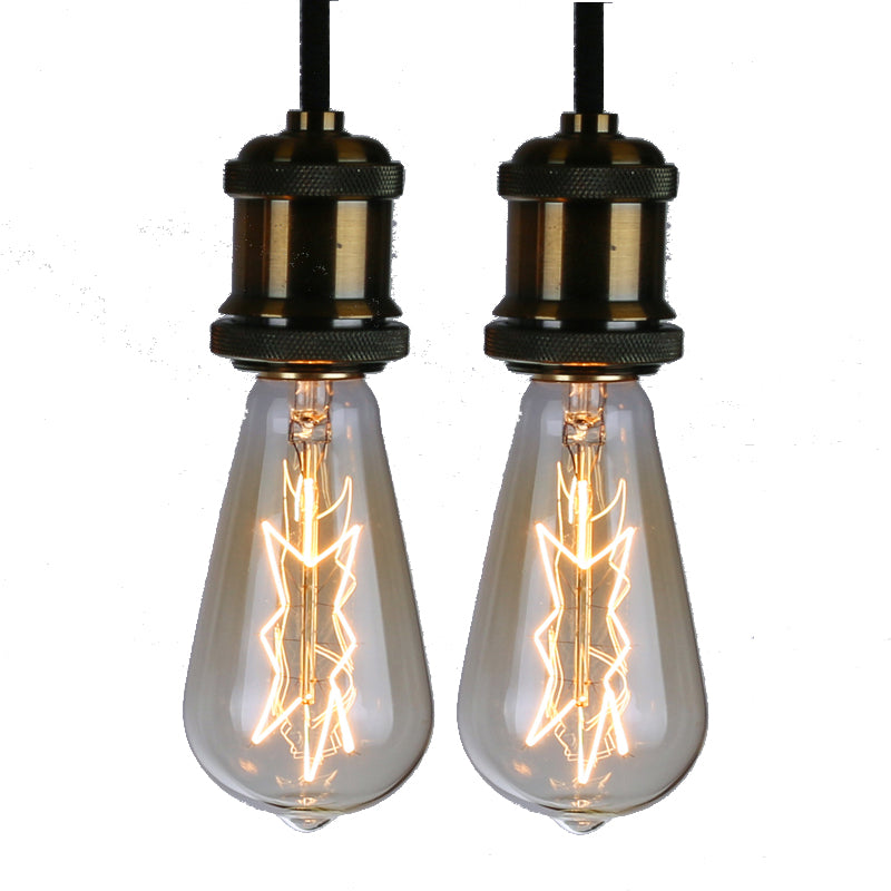 Edison Bulb Star Shape-2pack, 40 Watt, Dimmable