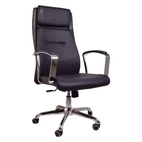High-Back Executive Chair - Black-Starry Night