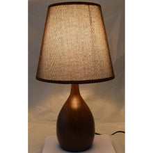 Load image into Gallery viewer, LED Side Table & Desk Lamp – Modern Style Lamp with Wood Finish