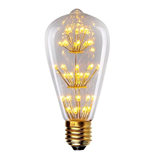 LED Warm White Decorative Edison Bulb