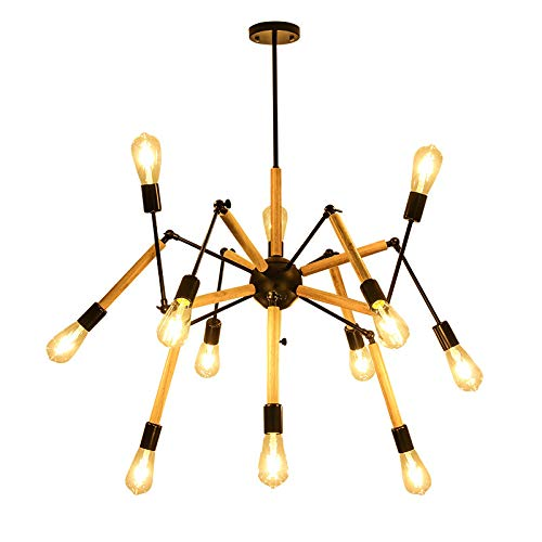Adjustable Arms Modern 12 Light Chandelier-Starry Night