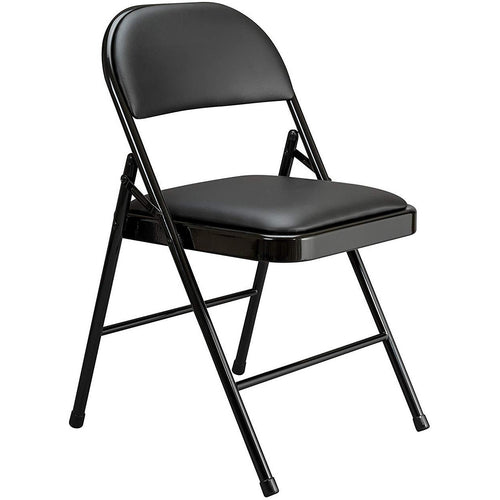 Multipurpose Padded Metal Folding Chair Black-Starry Night