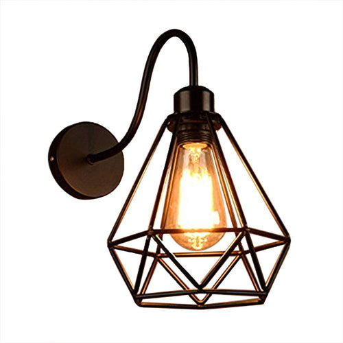 Industrial Vintage Wall Light E27 Holder-Starry Night