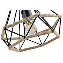 Load image into Gallery viewer, Rope Diamond Pendant Light