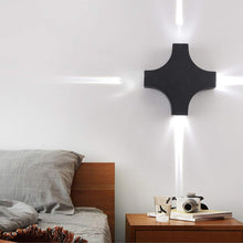 Load image into Gallery viewer, 12 watt Wall Lamp Outdoor LED Up and Down Wall Lamp Cross Star