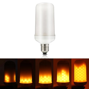 LED Flame Effect Light Bulb (Yellow, 3W, 200 lumens)