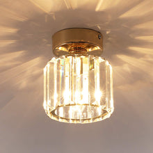 Load image into Gallery viewer, Modern Crystal Ceiling Light Fixture, Round