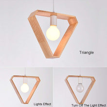 Load image into Gallery viewer, Triangle Pendant Light