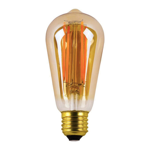 LED Filament Edison Bulb, E27 8 watt, Non-Dimmable