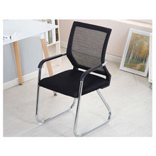 Load image into Gallery viewer, Office Desk Chair, Meeting Chair, Visitor Chair with Mesh Back Breathable Foam Pad and Robust Steel Base