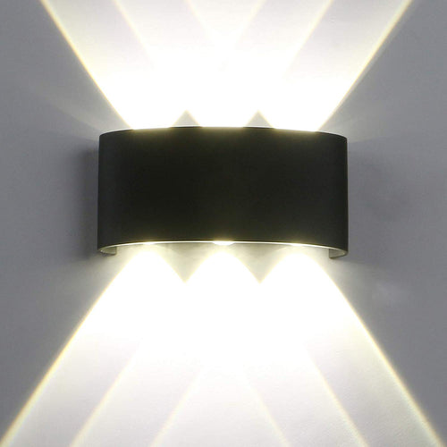 Waterproof Exterior Wall Lamp, 6W LED IP65
