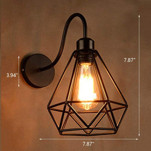 Industrial Vintage Wall Light E27 Holder