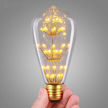 Load image into Gallery viewer, LED Warm White Decorative Edison Bulb-Starry Night