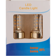Load image into Gallery viewer, 9 Watt E14 Warm White LED Bulb Non-Dimmable, Pack Of 2-Starry Night