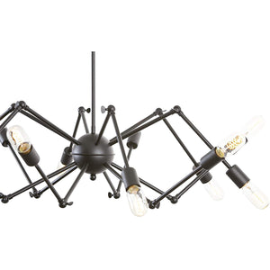 12-Light Spider Chandelier