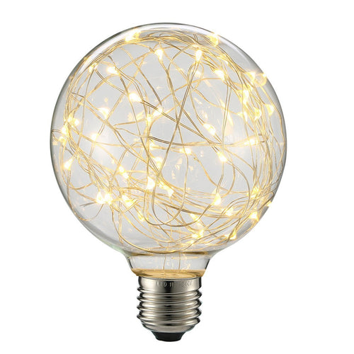 Decorative 3 watt LED G95 Edison Bulb