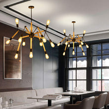 Load image into Gallery viewer, Adjustable Arms Modern 12 Light Chandelier