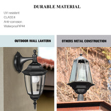 Load image into Gallery viewer, Outdoor LED Exterior Wall Light Fixture