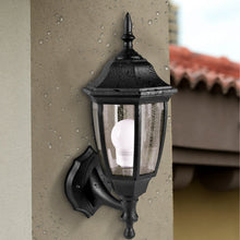 Load image into Gallery viewer, Outdoor Black LED Wall Light-Starry Night