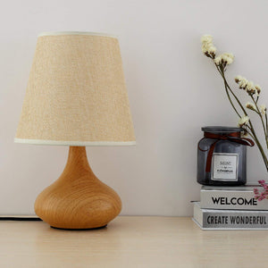 LED Table Lamp – Light Brown Modern Style Lamp-Starry Night