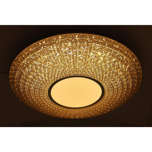 Load image into Gallery viewer, LED Rose Gold Decorative Ceiling Light with Acrylic Shade 2 in 1 Colour 20 watt-Starry Night