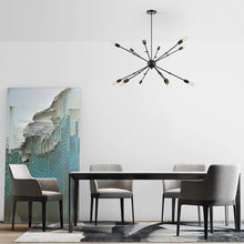 Load image into Gallery viewer, 12-Light Spider Chandelier