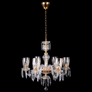 Crystal Chandelier - 6 Light-Starry Night
