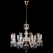 Load image into Gallery viewer, Crystal Chandelier - 8 Light-Starry Night