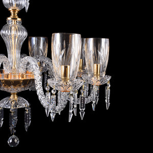 Crystal Chandelier - 8 Light-Starry Night