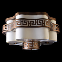 Load image into Gallery viewer, Brown Ceiling Light - 5 Lights