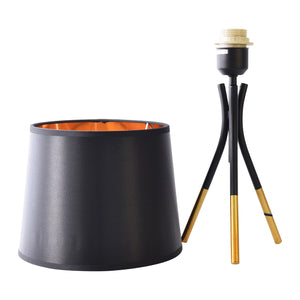 Black Bedside Table Desk Lamp-Starry Night
